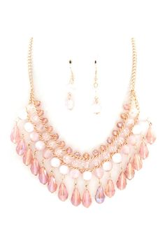 Lucite Hailey Necklace in Aspen on Emma Stine Limited