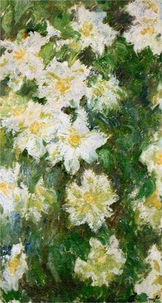 White Clematis -  Claude Monet