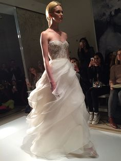 Spotted: A twirly, swirly skirt at @reemacra | Brides.com