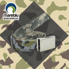 Correas al mejor estilo Mareblu, diseños reversibles.