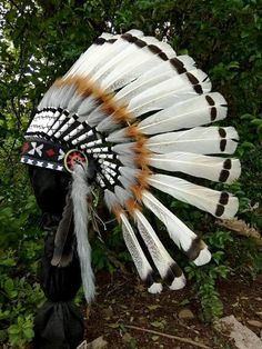 Super Black Extra Long Native American Indian Style Headdress ADJUSTABLE