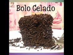 BOLO GELADO DE CHOCOLATE (TOALHA FELPUDA DE CHOCOLATE)