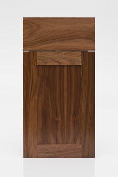The Woodsman   Walnut   Kokeena - Doors & Hardware for IKEA Cabinets