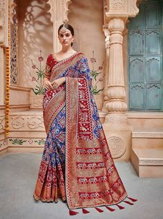 TATHASTU D.NO.-2005 RATE: 4490 - TATHASTU 2001 TO 2015 SERIES  BANARASI SILK JEQUARD TRADITIONAL FANCY SAREE COLLECTION AT WHOLESALE PRICE AT DSTYLE ICON FASHION CONTACT: +917698955723 - DStyle Icon Fashion
