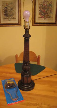 How to wire a lamp. Can easily turn practically anything into a lamp with these instructions.