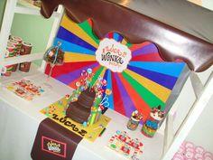 Luca WONKA party!! | CatchMyParty.com