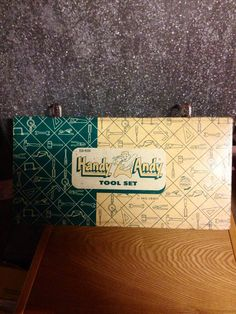 Handy Andy Tool Set Box Only by RANDOMONIUMM on Etsy
