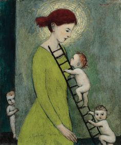 """Climbing Mother"" kersh-art 