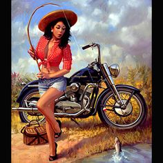 Pin-Up Art Series by David Uhl | Uhl Studios