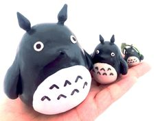 A personal favorite from my Etsy shop https://www.etsy.com/listing/255821284/polymer-clay-totoro-sculpture-studio
