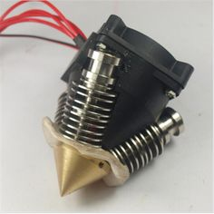 Reprap 3D printer diamond hotend nozzle full kit 3 * Lite6 cold end 1.75 mm 0.4 mm Triple inputs for multi color 3D printing