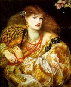 Rossetti, Mona Vanna, 1866 - Gatochy, via Flickr