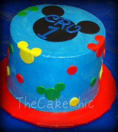 Mickey Mouse smash Cake | Mickey Mouse cake - a photo on Flickriver
