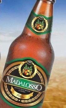 Cerveja Madalosso Pilsen, estilo Premium American Lager, produzida por Cervejas Madalosso, Brasil. 4.7% ABV de álcool.