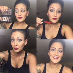 """This look was created on Facebook live last night  """"flawless foundation bundle""""           glorious face & eye primer, Mineral touch liquid foundation(taffeta), the liquid foundation brush & concealer (velour) sculpting trio (medium) pressed powder (satin) palette 3 with pigment powder below brow (sexy)  eye liner (perfect which is black) malibu bronzer (sunset) blush (sweet) 3D fiber lash mascara + lip stain (skittish) www.youniqueproducts.com/sheenakillian"""