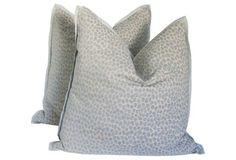 Cheetah Cut Velvet & Linen Pillows, Pair https://www.onekingslane.com/shop/debra-hall-lifestyle