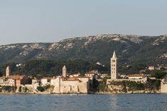 Rab Town, Otok Rab, Croatia