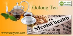 Oolong Tea Benefits, Mental Health, Health Care, Promotion, Place Card Holders, Health