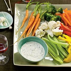 Creamy Garlic-Herb Dip | MyRecipes.com