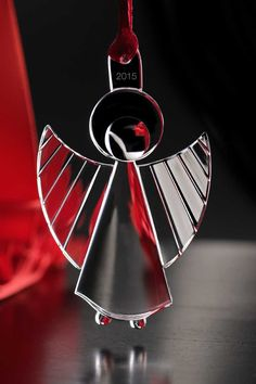 Orrefors Annual 2015 Ornament, Angel