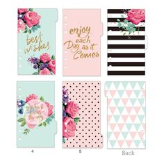 Dokibook Winter Series Dividers Planner Refill Notebook Diy Accessories Matching Filofax Kikki Creative Gift Stationery 5 Sheets-in Notebooks from Office & School Supplies on Aliexpress.com | Alibaba Group