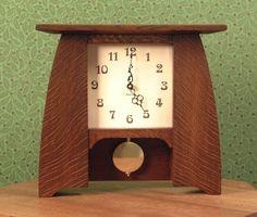 Clock Craftsman Style Mantle (Model 310)