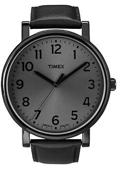 putting this on my birthday list, Timex Black watch $60