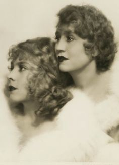 The Duncan Sisters - 1929 - Photo by  Ruth Harriet Louise - American vaudeville duo who became popular in the 1920s with their act Topsy and Eva