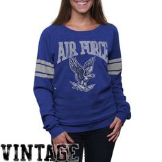 Air Force Falcons Slouchy Pullover Sweatshirt - Royal Blue