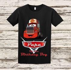 Camisas raglán abuelo camisa Disney Cars por BellaFashionDesignz