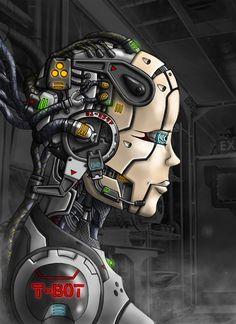 Cyberpunk, Cyborg, Future, Implants, Android, Robot, Female Bot