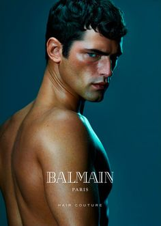 Sean O'Pry fronts the latest campaign of Balmain Hair Couture, shot by An Le. Hair by Nabil Harlow.