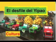 Color, cut, glue and load! Easy and super fun cultura for Spanish class! Create a Yipao parade with your students! This is one of the most popular fiestas in Colombia...