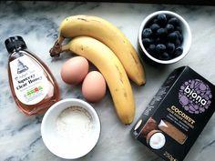 Gluteenittomat & proteiinirikkaat banaanipannarit