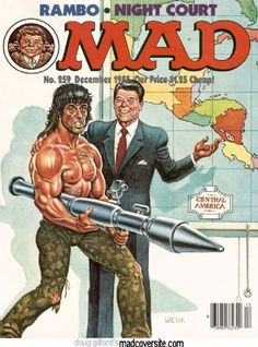 Ronald Reagan - MAD Magazine [United States] (December 1985)