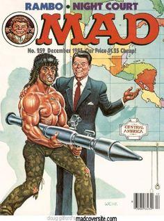 Ronald Reagan - MAD Magazine [United States] (December 1985)