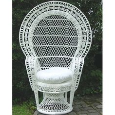 White Wicker Chair, Wicker Chairs, Wicker Furniture, Dining Table Chairs, White Furniture, Bridal Shower Chair, Baby Shower Chair, Filipiniana Wedding Theme, Showers For Sale