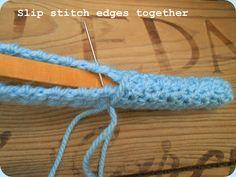 A Simple Crochet Coat hanger tutorial.. | Lazy Daisy Jones: A Simple Crochet Coat hanger tutorial..