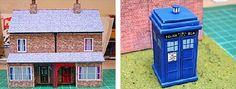 PAPERMAU: Town Scene Paper Models In 1/76 Scale - by Wordsworth Model Railway
