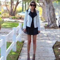 Lush Checkered Jacket, The Czech Chicks