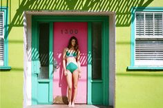 Surfer Girl Swimwear - The Kore Swim 2013 Lookbook is Shot in a Sunny San Francisco (GALLERY)