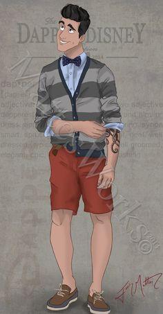 Dapper Prince Eric by MattesWorks.deviantart.com on @DeviantArt