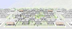 Galería de Mención Honrosa en Concurso de diseño de vivienda social sustentable en la Patagonia / Aysén, Chile - 12 Social Housing, Patagonia, Chile, Multi Story Building, Architecture, Ea, Pageants, Socialism, Arquitetura