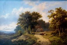 Lot 237 - Hendrik Pieter KOEKKOEK (Netherlands, 1843-1890) sold at our Oakville sale on March 24, 2015 for above the estimate.