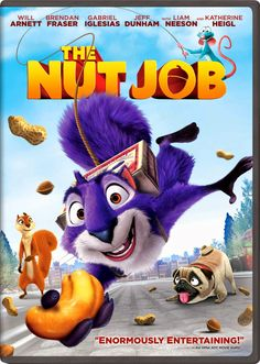 Get The Nut Job on DVD for $6.00