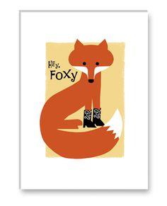 foxy foxy card