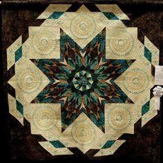 joseph's Coat by June Griepp  A beautiful pattern. A Beautiful Quilt!!!