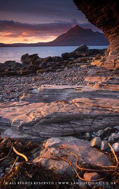 Elgol at sunset (Isle of Skye, Scotland) by Tomasz Szatewicz
