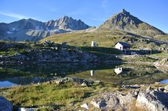 Today's photography is featuring Nufenen Pass. This is  the highest mountain pass with a road within Switzerland (2478) and was also the highest point of this year's race around Switzerland (TorTour).