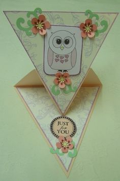 Use fold like an easel for a drawing or painting of Liam's for card for Grandma/Nana